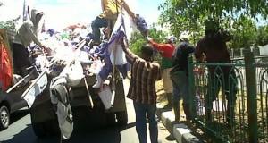 Hari bebas kampanye, atribut partai bersih di Banda Aceh