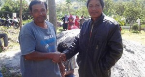 Di Aceh Tengah, di TPS ada ricuh ada juga berdamai