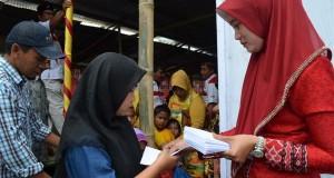 Lagi, Gerindra Bener Meriah santuni anak yatim