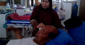 Cuci darah dan Silaturrahim di RSU Datu Beru