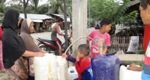 Sebagian Warga Bies Penantanan Keluhkan Air Bersih