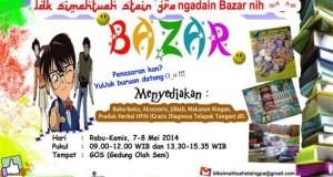 LDK Simahtuah STAIN GP gelar Bazar Buku 7-8 Mei 2014