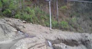 Longsor di lintas Blangkejeren-Pining ancam keselamatan pengendara