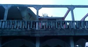 Angin kencang rusak perpustakaan dan menara masjid Kung Pegasing