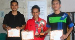 Ekonomi Petro Dolar juarai Turnamen Futsal Mahasiswa Lhokseumawe