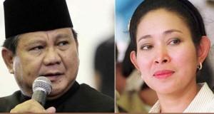 """Perkenalkan Tatiek Soeharto, Prabowo diteriaki massa """"Rujuk"""""""