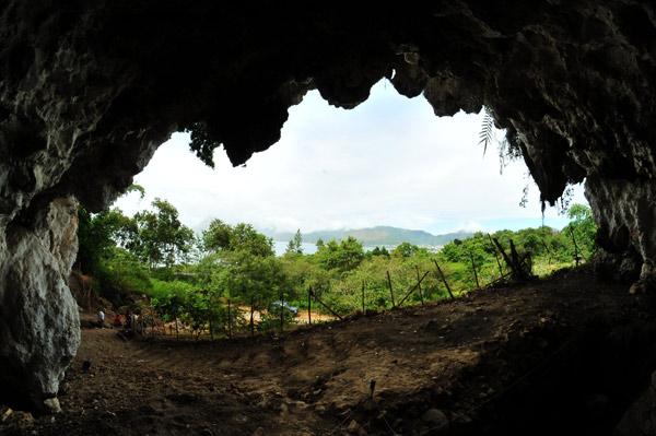 Gambar dengan pengambilan dari salahsatu gua. (LGco_Kha A Zaghlul)