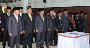 Anggota DPRK Gayo Lues dilantik