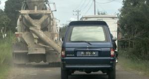 Jalan Takengon-(PLTA) Angkup