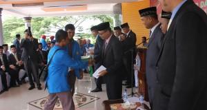 Pelantikan Rektor IAI Almuslim Diwarnai Demo
