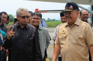 Gubernur setiba di bandara Alas Leuser