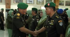 Ribuan prajurit Kodam IM naik pangkat