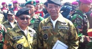 Gubernur Aceh terima anugerah warga kehormatan TNI di Surabaya