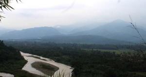 Begini keindahan Kutacane dari Bukit Cinta