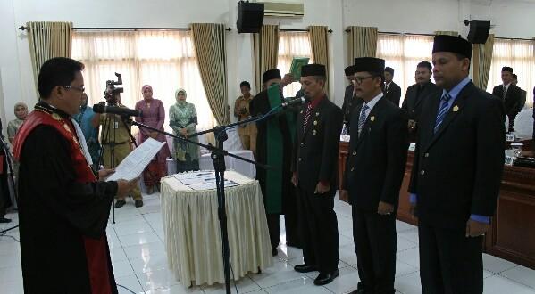 Pimpinan DPRK Bireuen resmi dilantik