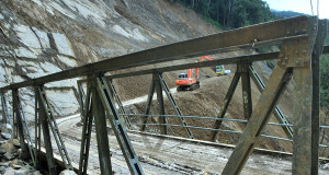 [Foto] Kondisi bekas longsor Tangsaran Gayo Lues