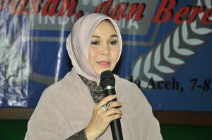 Illiza Sa'aduddin Djamal Wali Kota Banda Aceh. (LGco : Muna)
