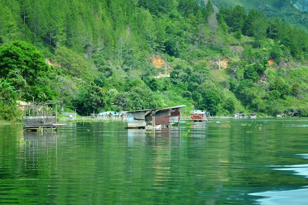 Pondok Pemancingan (Pepantaran - Gayo : red.) di kawasan Mendale