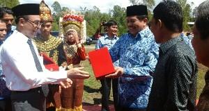 Sekda Aceh Letakkan Batu Pertama Pembangunan ISBI Aceh