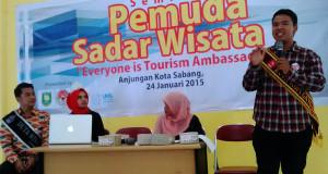 Duta Kopi Gayo 2015 'Ken' Jadi Pembicara Seminar Wisata di Sabang