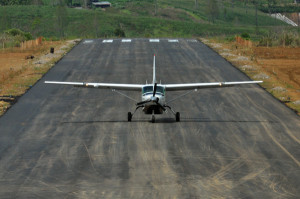Bandara Blangkejeren Gayo Lues.(LGco_Khalisuddin)