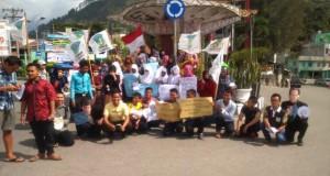 Demi Kedaulatan NKRI, KAMMI Aceh Tengah Gelar Aksi Dukung Eksekusi Mati 2 Warga Australia
