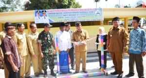 Pembangunan MCK Plus dan Ipal Komunal Program SLBM Diresmikan di Bener Meriah