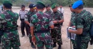 Kasdam lM Periksa Kesiapan Pengamanan Kunker RI 1 di Kab. Aceh Utara