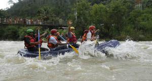 FAJI Aceh Tinjau Lokasi Kejurda Arung Jeram Galus