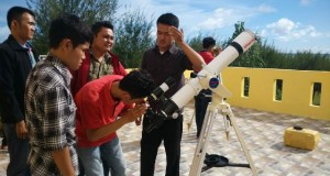 Pusat Observatorium Hilal Aceh Latih Mahasiswa UIN Ar-Raniry