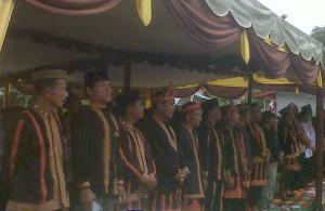 Tim Penilai lomba desa terbaik se-Aceh dan para undangan. (LGco_Susi Susanti)