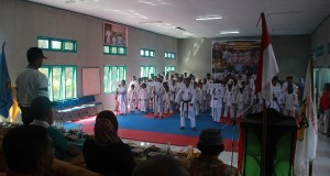 Disdik dan Kodim 0116 Nagan Raya Gelar Kejuaraan Karate Antar Pelajar