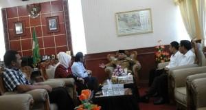 Pak Nas Sambut Tim Pansus DPR Aceh
