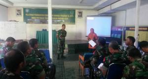 Penyuluh-Penyuluh Pertanian Cantik di Tengah Prajurit TNI