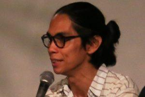 Angga Dwimas Sasongko saat diskusi pasca pemutaran film Filosofi Kopi (Foto : Fifick)