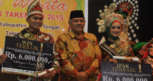Fajrika dan Maissy, Duta Wisata Aceh Tengah 2015