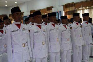 Anggota Paskibraka Aceh Tengah 2015