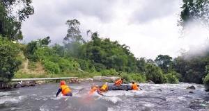 Hadapi Kejurda di Gayo Lues, Atlet Arung Jeram Aceh Tengah Latihan Intensif