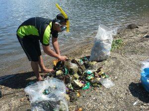 Sampah Danau Lut Tawar