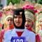Foto Aksi kreatif Paling Diapresiasi Pengunjung Karnaval di Blang Padang