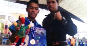 Juanda Atlet Tarung Derajat Asal Gayo Raih Perak di Popnas