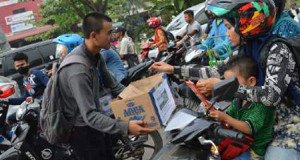 Pematang Lhokseumawe Gelar Aksi Peduli Korban Banjir Bandang Bener Meriah