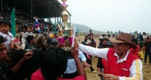 Bupati Aceh Tengah Hadiri Penutupan Pacuan Kuda di Gayo Lues