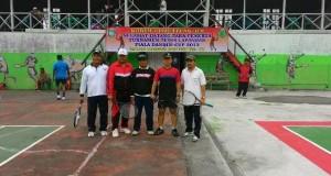 Turnamen Tenis Dandim 0106 Cup di Buka