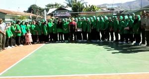 HUT TNI ke 70, Kodim 0106/AT-BM Gelar Turnamen Bola Voli