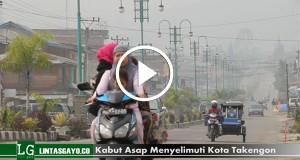 [Video] Kabut Asap di Kota Takengon Belum Menipis