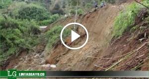 [Video] Longsor Jejem Lumpuhkan Lintas Takengon-Jagong Jeget