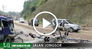 [Video] Tanah Longsor, Rusak Jalan dan Terjang Rumah di Merie Satu – Bener Meriah