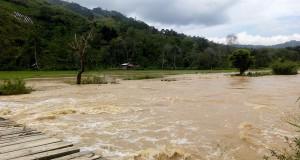 [Video] Luapan Sungai Peusangan, Rugikan Pembudidaya Ikan dan Genangi Rumah Warga