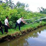 Masyarakat Wih Ilang Panen Ikan Nila dan Ikan Mas Program Aspirasi Alaidin Abu Abbas
